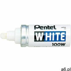 Marker PENTEL olejowy X100W biały (3474370111234) - ogłoszenia A6.pl