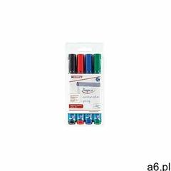 Edding Marker flipchart 4 kolory z okrągłą końcówką 380 (4004764013753) - ogłoszenia A6.pl