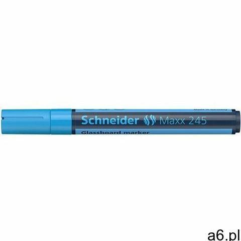 Marker do szklanych tablic SCHNEIDER Maxx 245 2-3mm niebieski - 1