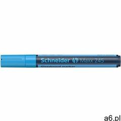 Marker do szklanych tablic SCHNEIDER Maxx 245 2-3mm niebieski - ogłoszenia A6.pl