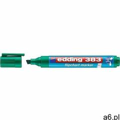 Marker do papieru Edding marker do flipchartów zielony (383) (4004764013937) - ogłoszenia A6.pl