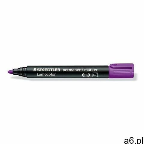Staedtler marker lumocolor permanentny okrągły fioletowy - 1