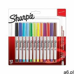 Sharpie sanford brands Markery permanentne sharpie 12 kolorów ultra fine (3026980654085) - ogłoszenia A6.pl