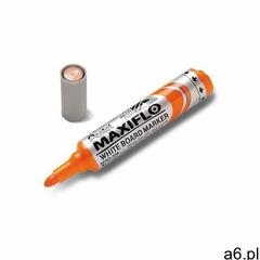 Marker PENTEL suchościeralny MWL5M - pomarańczowy - ogłoszenia A6.pl