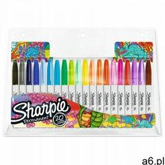 Markery Permanentne Sharpie 20 Kolorów Fine (3026980611286) - ogłoszenia A6.pl