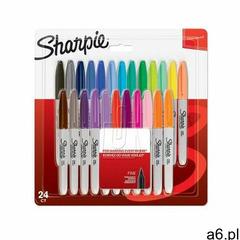Markery permanentne sharpie 24 kolory fine marki Sharpie sanford brands - ogłoszenia A6.pl
