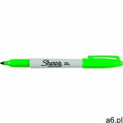 Sharpie fine marker permanentny zielony marki Sharpie sanford brands - ogłoszenia A6.pl