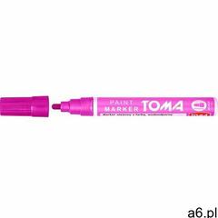 Toma Marker olejowy to-440 2,5mm różowy (5901133440815) - ogłoszenia A6.pl