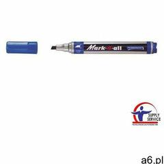 Marker STABILO 4-All ścięta - niebieski, 653/41 - ogłoszenia A6.pl