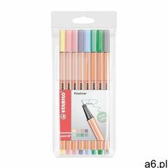Stabilo Cienkopis point 88 pastel 8 kolorów etui -. - ogłoszenia A6.pl