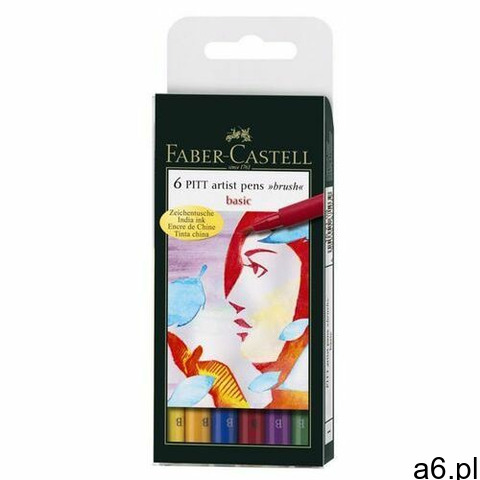 Cienkopis FABER-CASTELL Art. BASIC 6 kol. FC167103 (4005401671039) - 1
