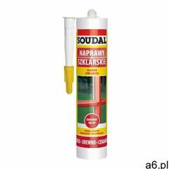 Soudal silikon szklarski 280 ml biały (5411183157040) - ogłoszenia A6.pl