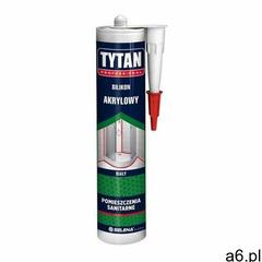 Silikon akrylowy Tytan 280 ml biały (5902120175475) - ogłoszenia A6.pl