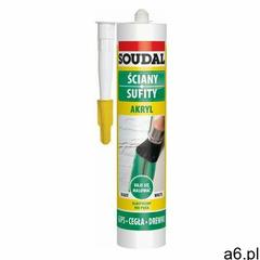 Akryl Soudal 280 ml beżowy (5411183157224) - ogłoszenia A6.pl