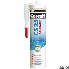 Silikon sanitarny cs 25 biały 01 280 ml marki Ceresit - ogłoszenia A6.pl