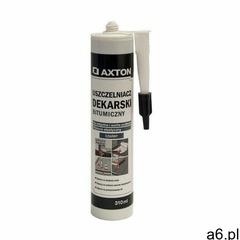 Uszczelniacz dekarski bitumiczny Czarny 310 ml AXTON - ogłoszenia A6.pl