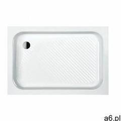 Sanplast Brodzik prostokątny Classic B/CL 75x80x15+STB 75x80x15cm 615-010-0320-01-000 - ogłoszenia A6.pl