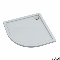 Sched-pol Brodzik akrylowy atla półokrągły 90 x 4,5 cm biały (5902627729102) - ogłoszenia A6.pl