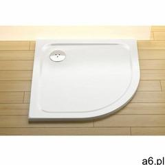 Ravak brodzik prysznicowy niski Elipso Pro Chrome 80 biały XA244401010 - ogłoszenia A6.pl
