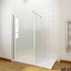 Massi Massi ścianka walk-in 100x195, szkło transparentne + powłoka easyclean mskp-fa1021-100 100 - ogłoszenia A6.pl