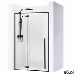 Rea Drzwi prysznicowe szerokość 110 cm czarne profile fargo uzyskaj 5 % rabatu na zakup - ogłoszenia A6.pl