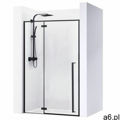 Drzwi prysznicowe szerokość 120 cm czarne profile Fargo Rea UZYSKAJ 5 % RABATU NA ZAKUP, REA-K6328 - ogłoszenia A6.pl