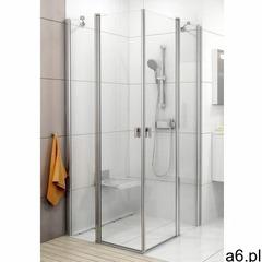 Ravak Chrome CRV2-100 drzwi prysznicowe 100 cm częściowe 1/2 satyna/transparent 1QVA0U00Z1, 1QVA0U00 - ogłoszenia A6.pl