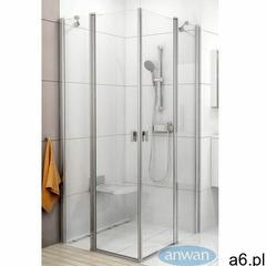 Ravak Chrome CRV2-80 drzwi prysznicowe 80 cm częściowe 1/2 biel/transparent 1QV40100Z1, 1QV40100Z1 - ogłoszenia A6.pl