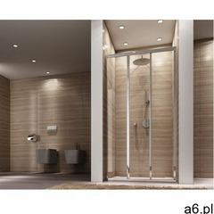 Rea Drzwi prysznicowe rozsuwane 90 cm alex uzyskaj 5 % rabatu na drzwi (5902557307432) - ogłoszenia A6.pl