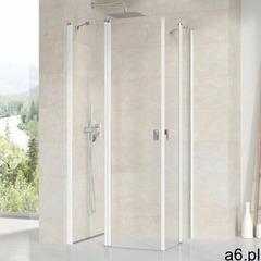 Ravak chrome crv2-110 drzwi prysznicowe 110 cm częściowe 1/2 satyna/transparent 1qvd0u00z1 (85950968 - ogłoszenia A6.pl