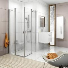 Ravak chrome crv2-90 drzwi prysznicowe 90 cm częściowe 1/2 polerowane aluminium/transparent 1qv70c00 - ogłoszenia A6.pl