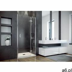Besco Viva drzwi prysznicowe 100x195 cm prawe szkło przezroczyste DVP-100-195C, DVP-100-195C - ogłoszenia A6.pl