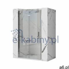Rea molier drzwi prysznicowe 100 cm profile chrom rea-k6371 (5902557357338) - ogłoszenia A6.pl