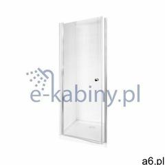 Besco Sinco drzwi prysznicowe 90 cm wnękowe szkło przezroczyste DS-90 - ogłoszenia A6.pl