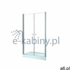 Besco Drzwi prysznicowe uchylne 90 cm sinco due (5908239686062) - ogłoszenia A6.pl
