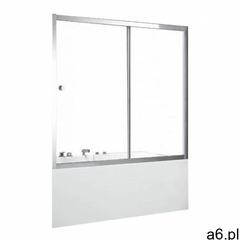 Besco Duo Slide II parawan nawannowy 170 cm szkło przezroczyste DDS-II-170 - ogłoszenia A6.pl