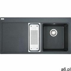 Zlew Franke MTG 651-100 grafitowy komora z prawej 114.0063.945 + AKCESORIA - KOLORY (PROMOCJA -  - ogłoszenia A6.pl