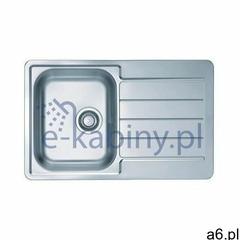 Alveus line start 80 zlewozmywak stalowy 79x50 cm wpuszczany 1-komorowy satyna 1069147 (383899737172 - ogłoszenia A6.pl
