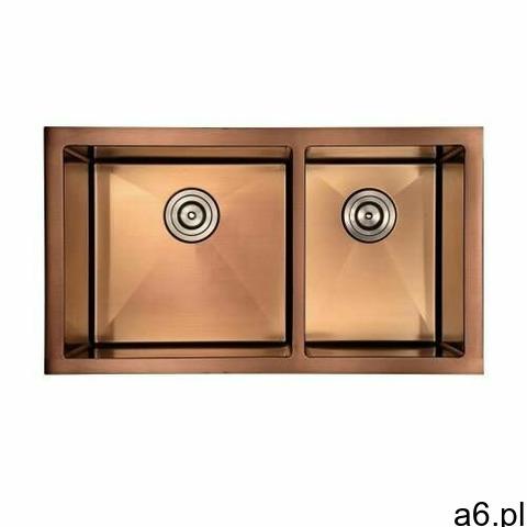 Zlewozmywak Kuchenny Podwójny ROSE GOLD Seria X88G, kolor złoty - 1