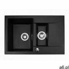 Zlewozmywak granitowy estein 1,5k czarny metalik marki Brenor - ogłoszenia A6.pl
