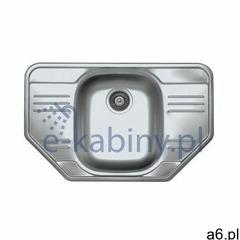 Genesis by Alveus Allux 30 zlewozmywak 78x49 cm stal satyna 1039566 - ogłoszenia A6.pl