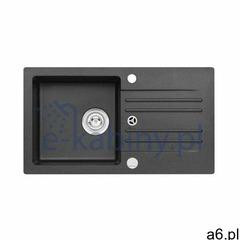 Genesis by Alveus Foxtrot 130 zlewozmywak 75x42 cm granitowy czarny 9603291 (5902767623131) - ogłoszenia A6.pl