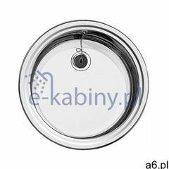 Blanco Rondosol zlewozmywak stalowy 46 cm stal szczotkowana 513307 (4020684355865) - ogłoszenia A6.pl