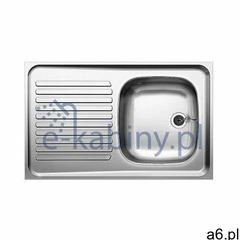 Blanco R-ES 8x5 zlewozmywak stalowy 80x50 cm stal matowa 510499 (2010000013373) - ogłoszenia A6.pl