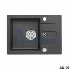 Genesis by Alveus Cancan 30 zlewozmywak 58x42 cm granitowy czarny 9753391 (2010000025536) - ogłoszenia A6.pl