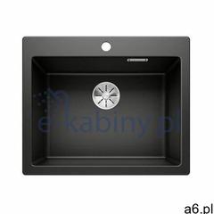 Blanco Pleon 6 zlewozmywak 61,5x51 cm z Silgranit PuraDur czarny 525953 - ogłoszenia A6.pl