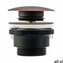 Rea Old Black korek do umywalki klik-klak czarny REA-A5218, REA-A5218 - ogłoszenia A6.pl