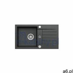 Alveus Genesis by amaro 130 zlewozmywak 75x42 cm granitowy czarny 9923391 - ogłoszenia A6.pl