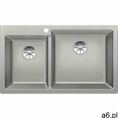 Blanco Zlewozmywak pleon 9 perłowoszary (korek manualny infino) (523060) (4020684672580) - ogłoszenia A6.pl