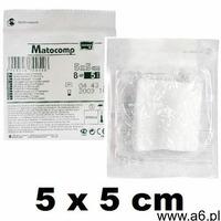 Kompresy z gazy Matocomp 17-nit. 8-warst. jałowe 5x5cm -2 szt. (5900516705954) - ogłoszenia A6.pl